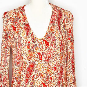 Zara Dresses - Paisley Print Boho Tunic Dress by Zara Woman